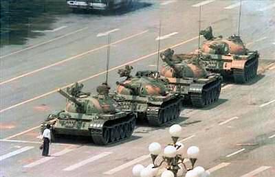 O homem do tanque de Tianasquare - Jeff Widener